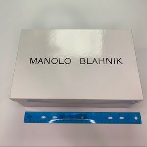 Manolo Blahnik Shoe Box - Empty
